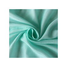 9m/m light  green silk cotton fabric for silk lining  or scarf