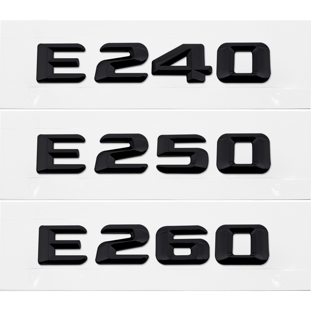 New Chrome 3D Self-adhesive Car Letters badge emblem sticker Spelling C260
