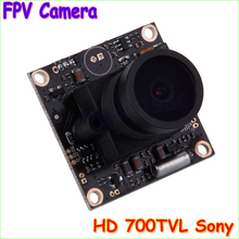 Wholesale 1pcs HD 700TVL SONY CCD PAL or NTSC 2.1mm Mini CCD FPV Camera for RC Quadcopter Drone FPV Photography Drop freeship