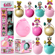 20PCS/Lot LOL Surprise Doll Magic Funny Removable Egg Ball Doll Toy Educational Novelty Kids Unpacking Surprise Dolls Girls Toy(China)
