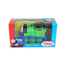 D956 New Diecast Metal magnetic Thomas and Friends electric rail toy children/pull back/light /music/Track Child Toy (Percy)(China)