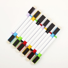 6PCS/Set 6 Colors Repeated Filling Whiteboard Marker Pen Set With Eraser And Magnetic Marker Pen