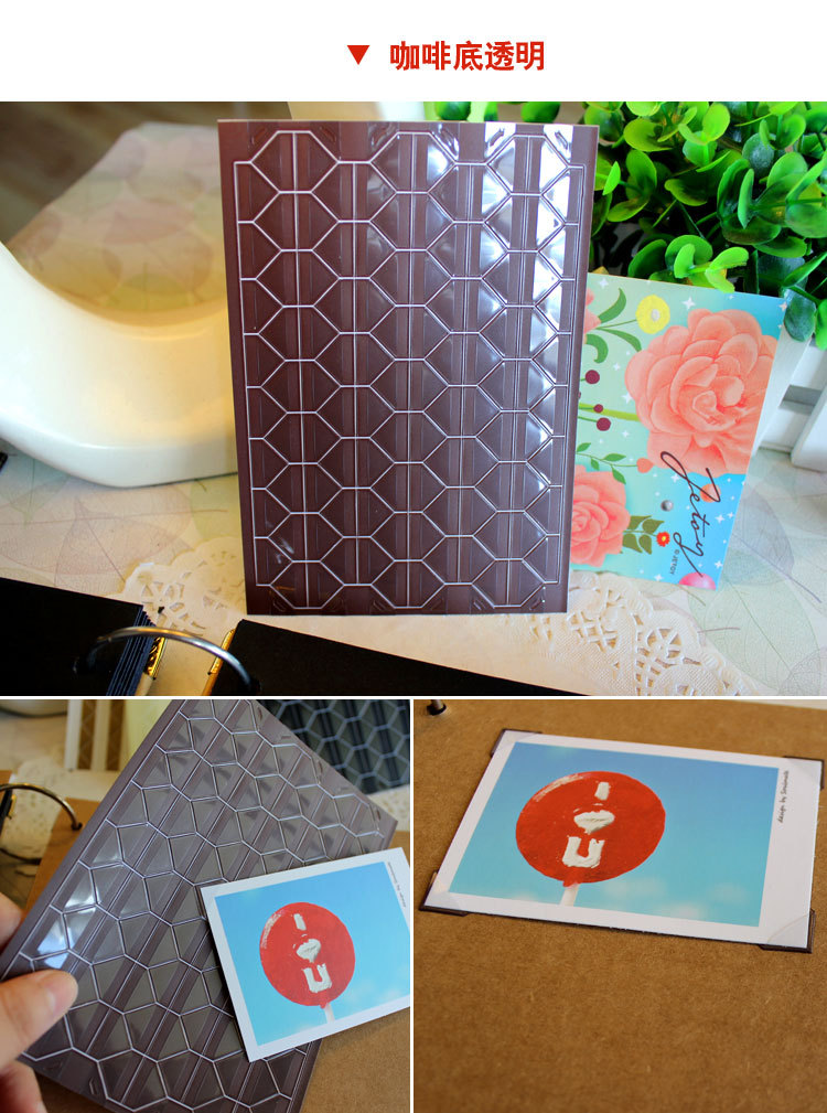 DIY Photo Album Scrapbook Sticker PVC Colorful Paper Corner Stickers Transparent Frame Decoration 1Sheet=102PCS School Supplies