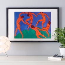 Matisse Design Olympic Series Canvas Art Print Painting Poster Wall Pictures For Room Decoration Home Decor Silk Fabric No Frame
