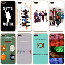 G317 The Breakfast Club Transparent Hard Thin Case Cover For Apple iPhone 4 4S 5 5S SE 5C 6 6S 7 8 X Plus(China)