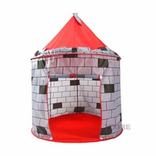 Knight's Castle Kids Play Tent Indoor & Outdoor Children's Playhouse Durable & Portable with Free Carrying Bag Perfect Gift(China)