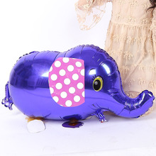 Cute Elephant Balloon, Cartoon Foil Birthday Party Balloon Air Traveler Balloon Child Baby Toy Holiday Party Decoration