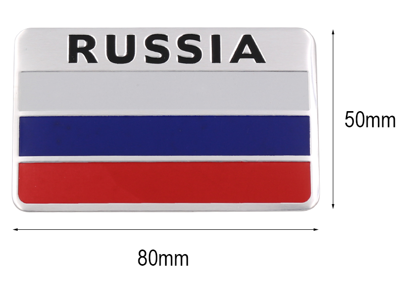 Stylish-3D-Aluminum-Russian-Flag-Pattern-Square-car-Stickers-Decal-Car-Window-Door-Durable-to (3)