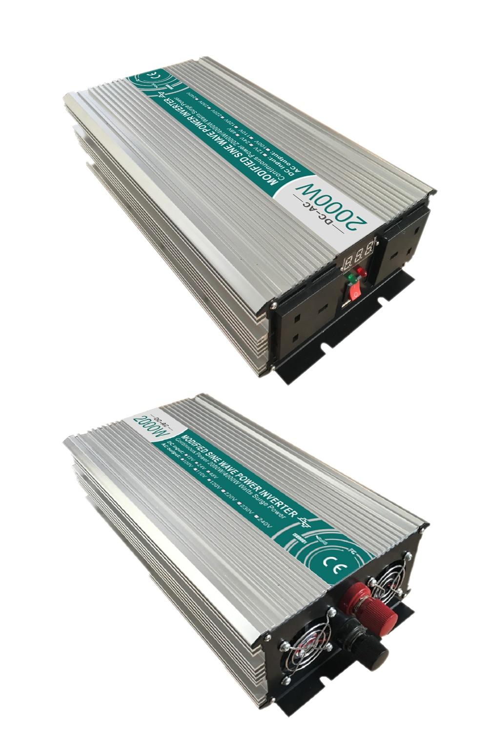 Smart Modified Sine Wave Inverter Dc 12v 24v 48v To Ac 110v 220v 300watt Circuit Diagram Aeproduct