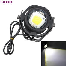 Auto car-styling car-charge1 Pair 1000LM 10W Eagle Eye Light DRL Car LED Fog Lights Daytime Running Light led feb15