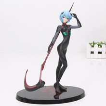 21cm EVA Neon Genesis Evangelion Ayanami Rei Plugsui PVC Action Figures Collection Model toys for christmas gift