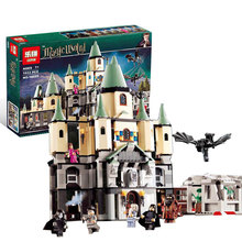 1033Pcs 16029 Model building kits compatible with lego Harry Potter Bricks Magic Hogwort Castle 3D blocks model building toy