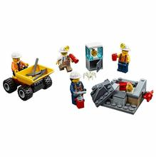 Buy Lepin 02100 City Series Mining Experts Primer Package Building Blocks Bricks Toys Children Gift Compatible Legoes 60184 for $5.98 in AliExpress store