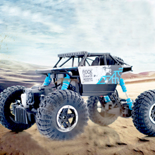 Buy RC Car 1:18 4DW 2.4GHz Metal Rock Crawlers Rally Climbing Car Double Motors Bigfoot Car Remote Control Model Toys Boys. for $31.50 in AliExpress store