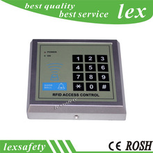 125khz id password card entrance guard all-in-one machine,Keypad Integration Access Control reader+free 2 pieces white id cards
