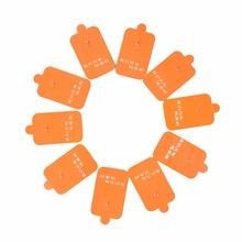 Useful 5 Pairs=10 Pcs Body Healthy Massage & Relaxation Safe Replacement Electrode Tens Units Pads for Massagers(China)