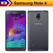 Unlocked Original Samsung Galaxy Note 4 N910F N910A N910P Android 4.4 5.7 Inch 3GB 16MP FDD LTE 16.0MP Mobile Phone(China)