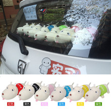 New Funny Dog doll car deodorant bamboo charcoal bag purify auto air freshener indoor decoration toys car styling