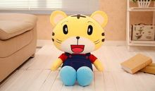 38cm hot sale high quality nici tiger qiaohu doll plush toy, tiger plush toy early childhood education best baby toy(China)