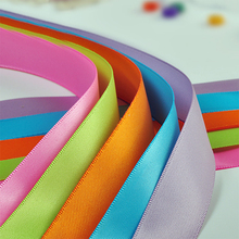 Size 3 6 9 13 16 19 22 25 28 32 38 50 57 63 75 89 100 MM Width 100% polyester solid color plain Satin Ribbon 100Y/color(China)