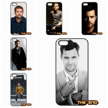 Joshua Jackson Binge watching Fringe Cell Phone Case Cover For iPhone 4 4S 5 5C SE 6 6S 7 Plus Galaxy J5 A5 A3 S5 S7 S6 Edge(China)