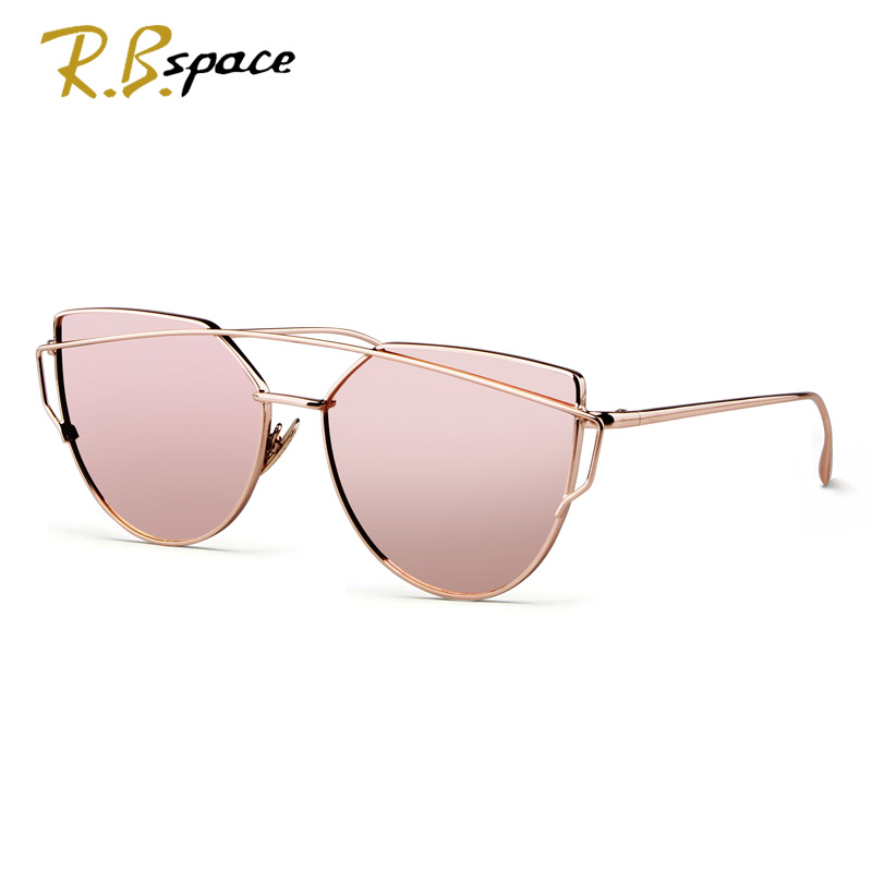 RBspace Cat eyes  polarizer womens sunglasses for women summer style vintage sun glasses woman oculos de sol feminino nightclub<br><br>Aliexpress