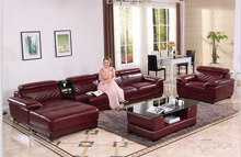 l shape sofa set designs with european style for living room with bonded leather