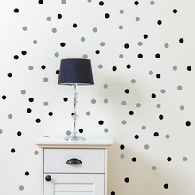 120/70 PCS Polka Dot Wall Sticker Removable Wall Decal Eco-Friendly Circle Round Wall Stickers Artistic Design Wallpaper Mural