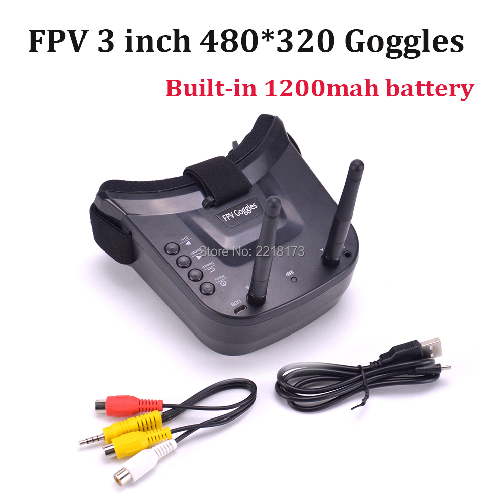 3 inch VR goggles built in 1200mah battery without DVR (13)