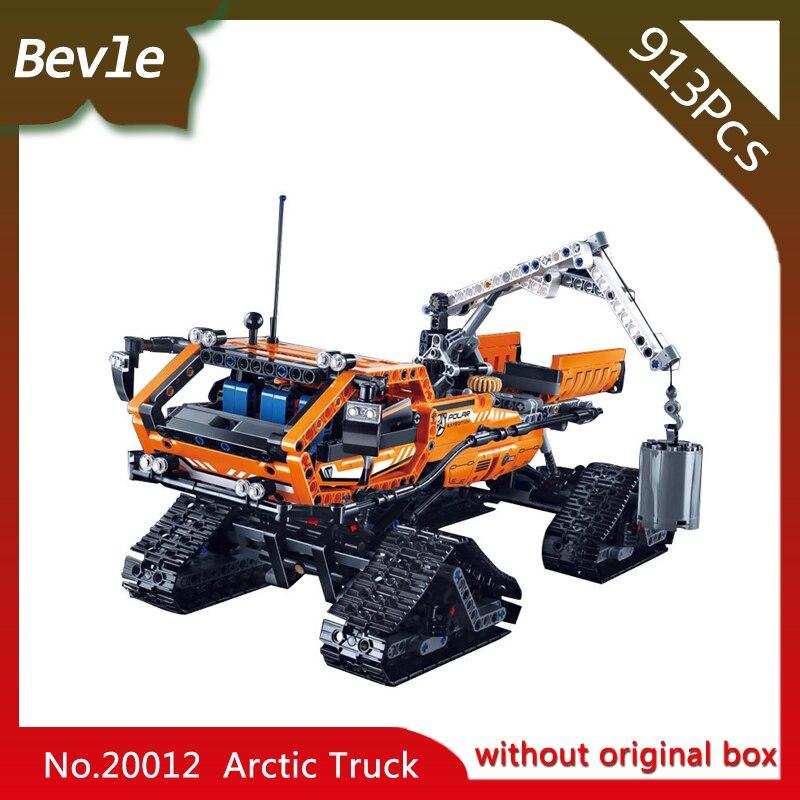 Bevle Store LEPIN 20012 1605Pcs Technic Series Polar Engineering Trucks Building Blocks Set Bricks For Children Toys 42038<br>