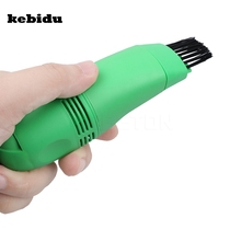 kebiduMini USB Vacuum Keyboard Cleaner Dust Machine For Computer Laptop PC(China)