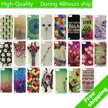 For iPod Touch 5 5G 5th Silicone Rubber Protective Skin Soft Gel TPU IMD Back Cover Case