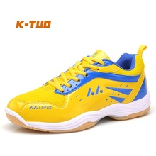 K-TUO New Arrival Men Badminton Shoes Professional Male Sport Shoes Men's Sneakers Cushioning Breathable Students Shoes L-05(China)