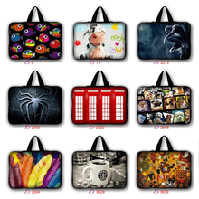 7 10 11.6 13 14 15.4 15.6 17.3 17 inch Cute Pug Cat spiderman Laptop Bag Notebook sleeve Case Cover For Macbook HP Asus Dell #2
