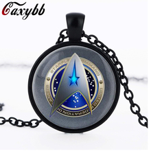 2016 New Fashion Avengers Hammer Symbol Necklace Thor God of Thunder Jewelry Glass Picture Pendant