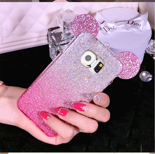 Buy Nephy Glitter Mickey Minnie Silicone Phone Case Samsung Galaxy S5 S6 S7 Edge S8 Plus A3 A5 J5 J7 Neo 2015 2016 2017 Cover for $1.59 in AliExpress store