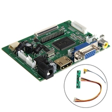 HDMI VGA 2AV Controladora Board LVDS 50 PIN TTL Monitor PI LCD AT070TN90/92/94 -R179 Drop Shipping