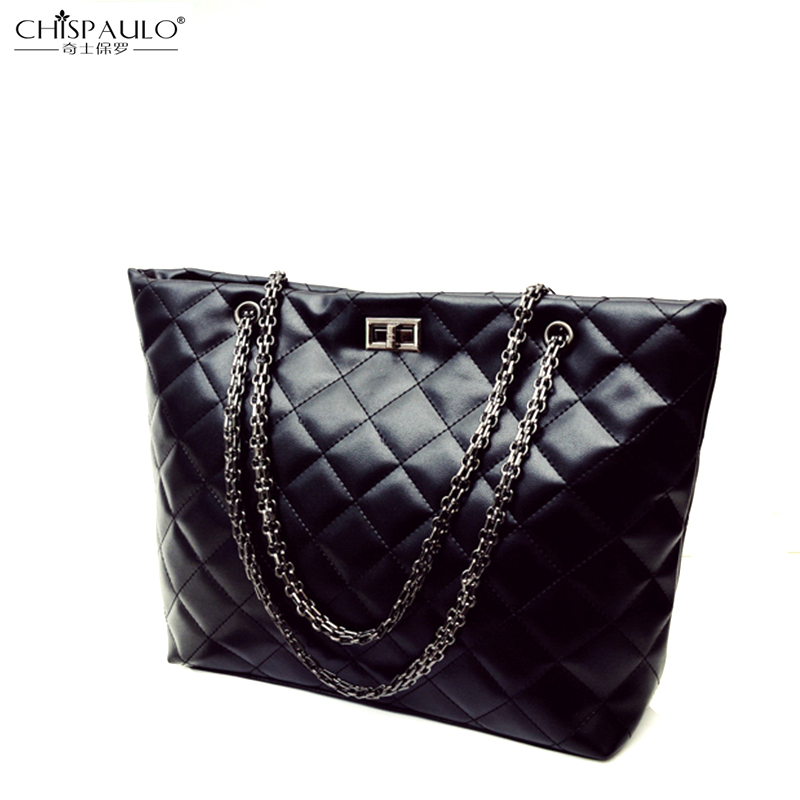 Autumn and winter new high-quality Korean retro handbag fashion simple large capacity diagonal cross-shoulder bag lattice turn c<br><br>Aliexpress