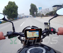 GPS Moto 4.3 inch motorcycle GPS Navigator Waterproof Rating IPX7  8GB   Bluetooth Free MAP For Moto