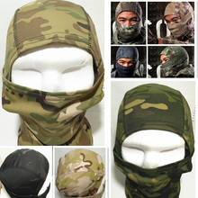 Rattlesnake Tactical Airsoft Hunting Wargame Breathing Dustproof Face Balaclava Mask Motorcycle Skiing Cycling Full Hood