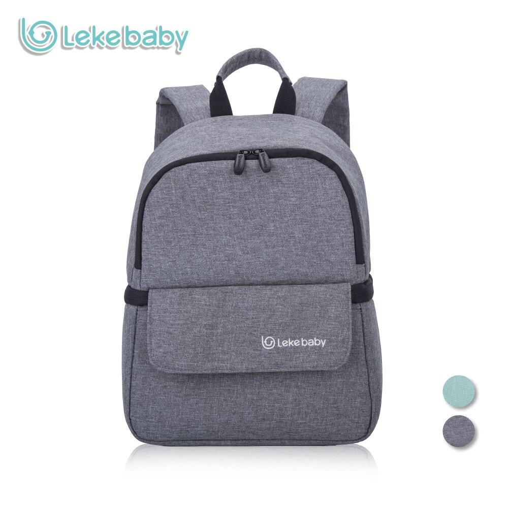 Lekebaby Breast Milk Storage for Baby Food Multifunction Insulated Cooler Bag Fresh-keeping Waterproof Larger Diaper Bag<br>