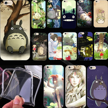 5 5S SE Hot Silicon Painting Adorable Totoro Phone Cover Case For Apple iPhone 5 iPhone 5S iPhone5 iPhone5S Cases Shell Best Hot