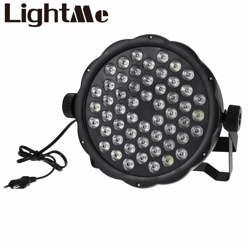 New LED Stage Lights AC 110 - 220V 54 x 1W LED Stage Light RGBW DMX512 Party Lamp for DJ Disco Party KTV For EU US Plug<br>