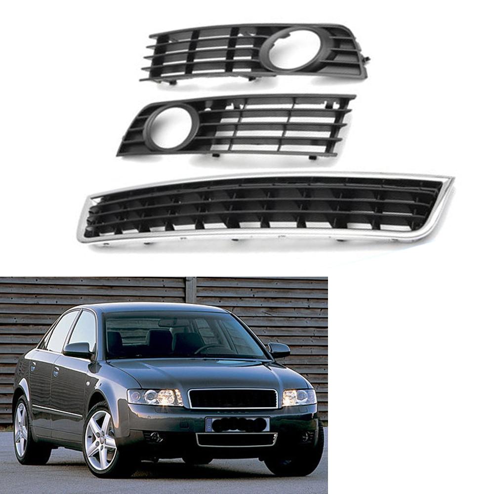 Front Right Side Bumper Fog Light Lower Grille Cover fits for VW Passat B5 01-05