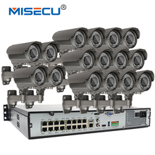4K H.265 16CH POE 48V NVR i8S Onvif support 4*6TB API Protocol Real plug-play 4.0MP 2592*1520P POE 2.8-12mm Zoom IR Surveilance