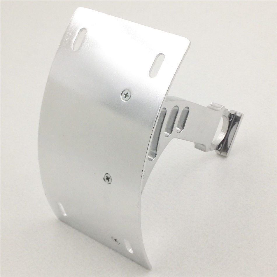 Motorcycle Frame License Plate Bracket Mount Number Plate Holder 1 Axle For Honda CBR 900R CBR 929R CBR 954R RC51 Silver<br>
