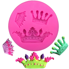 Crowns from Princess Queen 3D Silicone Mold Fondant Cake Cupcake Decorating Tools Clay Resin Candy Fimo Super Sculpey 3120