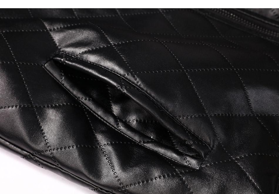 mens leather winter bomber jacket fur 09