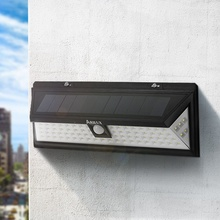 Waterproof ARILUX AL-SL12 80 LED Solar Light Outdoor LED Garden Light PIR Motion Sensor Emergency Wall Solar Lamp 3.7V