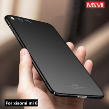 Buy Xiaomi Mi 6 Case msvii Luxury Hard PC F xiaomi mi6 pro global case cover Ultra Thin Protection coque Xiomi Mi6 phone cases for $4.24 in AliExpress store
